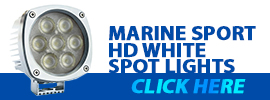 Marine HD White Spot Lights